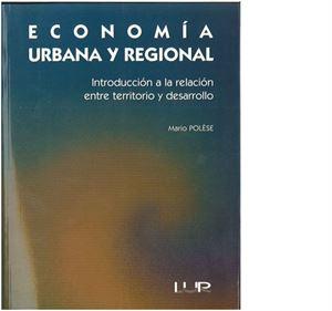 Picture of Economía urbana y regional.
