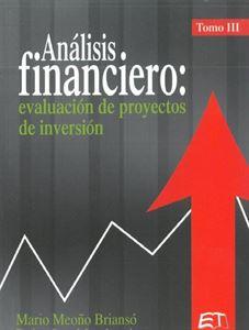 Picture of Análisis financiero: evaluación de proyectos de inversión. Tomo III